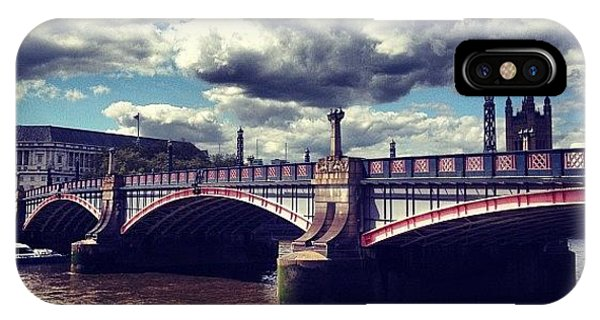 London Bridge iPhone Case - #instamood #instagood #instagrammers by Maeve O Connell