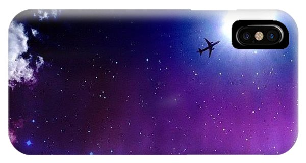 Instagram iPhone Case - Into The Nebula by Randy Lemoine