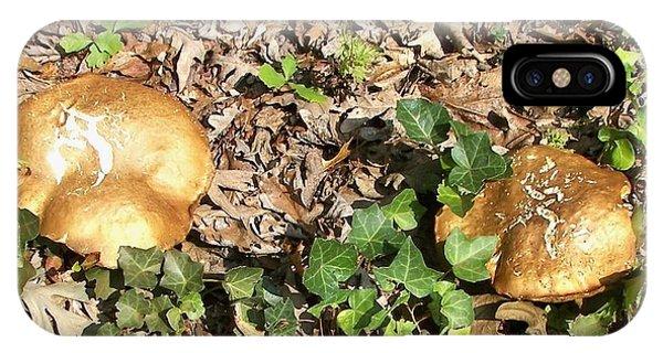 Invasive Shrooms IPhone Case