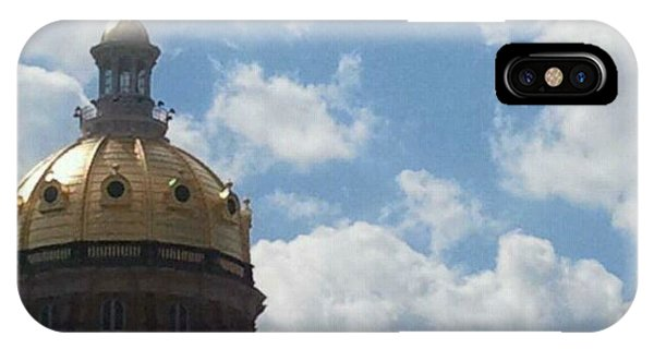 Iowa State Capital Building 9 11 11 IPhone Case