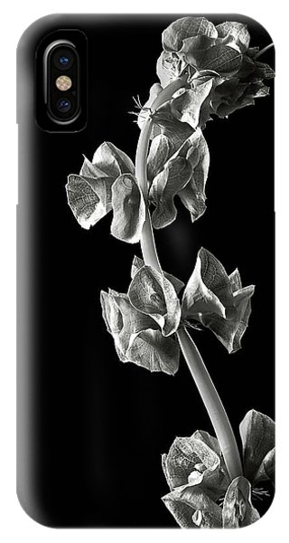 Irish Bells In Black And White IPhone Case
