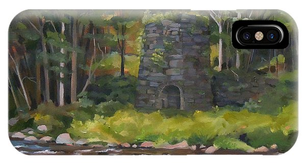 Iron Furnace Of Franconia New Hampshire IPhone Case
