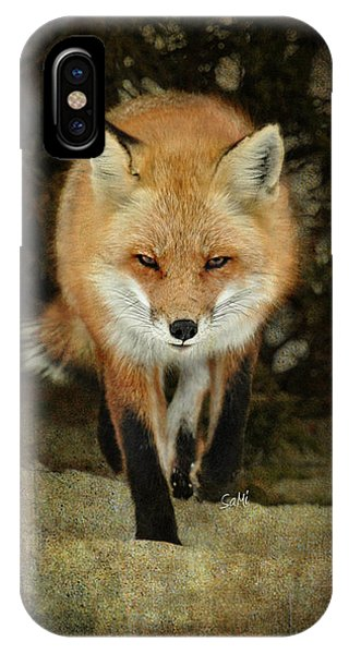 Island Beach Fox IPhone Case
