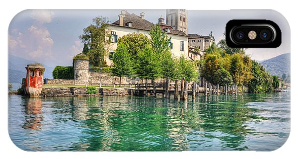 Island San Giulio IPhone Case
