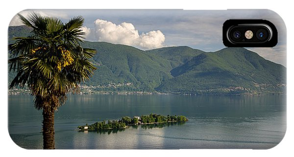 Islands On An Alpine Lake IPhone Case