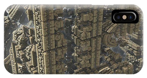 Science Fiction iPhone Case - It's A Long Way Down by Jacob Bettany