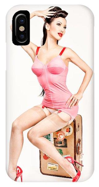 Jade Vixen Bubblegum 1076 IPhone Case