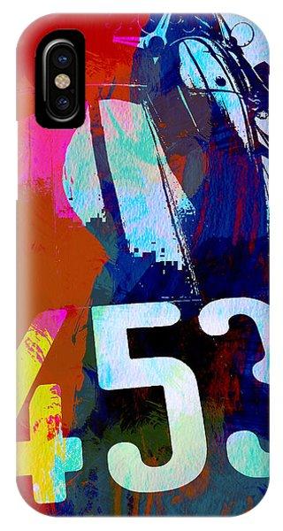 Event iPhone Case - Jaguar E Type Watercolors by Naxart Studio