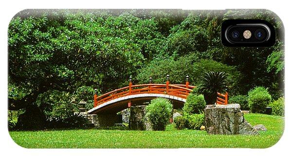 Japanese Garden Bridge 21m IPhone Case