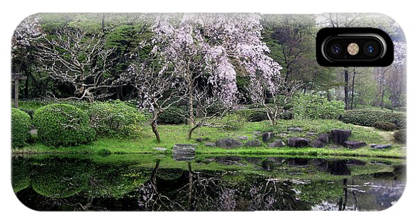 Japan's Imperial Garden IPhone Case