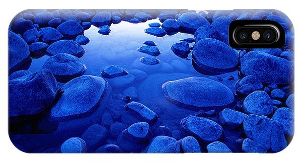 Jasper - Blue Boulders Phone Case by Terry Elniski