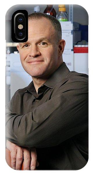 Jay Keasling, Us Scientist Phone Case by Volker Steger