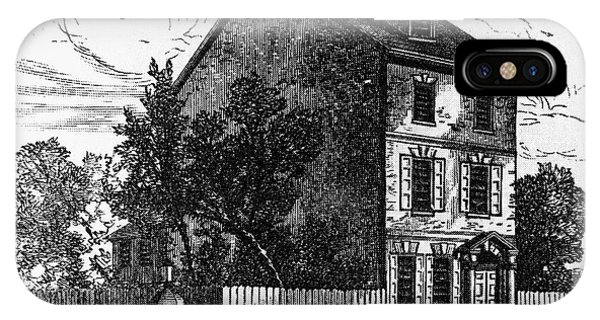 Jeffersons House, 1776 IPhone Case