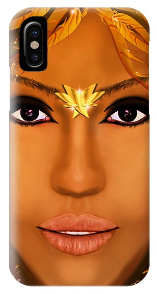 Jessica Alba iPhone Case - Jessica Alba Fairy Tale by Mathieu Lalonde