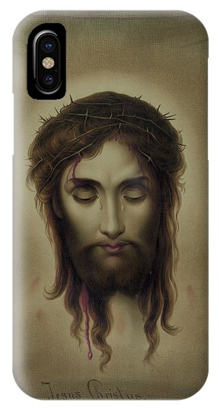 Allison iPhone Case - Jesus Christ by Kurz and Allison