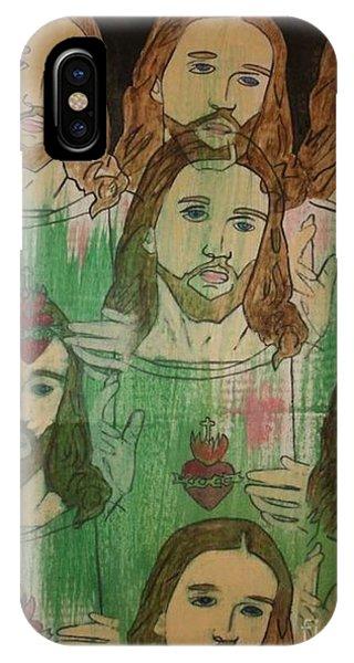 Samantha iPhone Case - Jesus by Samantha L