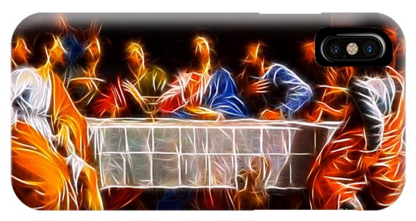 Spirituality iPhone Case - Jesus The Last Supper by Pamela Johnson