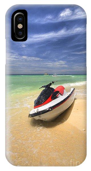 Jet Ski iPhone X Case - Jet Ski by Yhun Suarez
