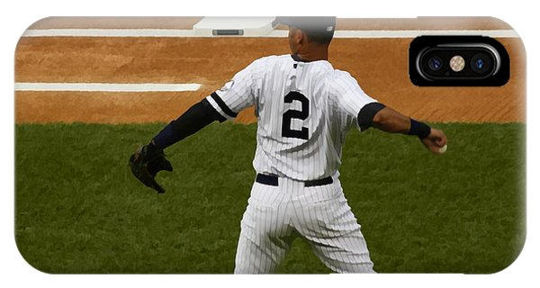 Jeter IPhone Case