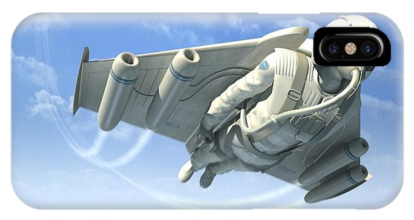Jetman, Artwork Phone Case by Henning Dalhoff