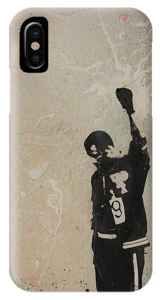 Fred Hampton iPhone X Case - John Carlos by Dustin Spagnola