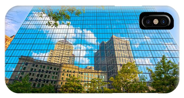 John Hancock Tower IPhone Case