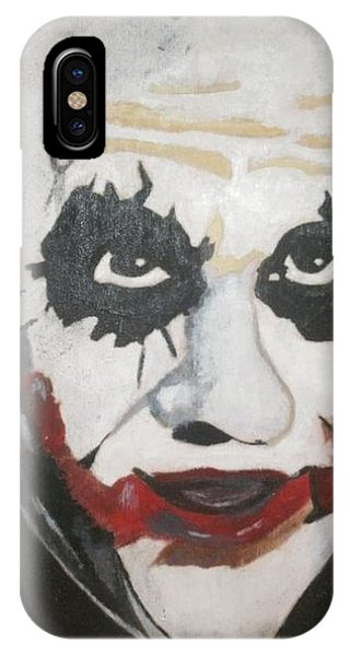 Samantha iPhone Case - Joker by Samantha L