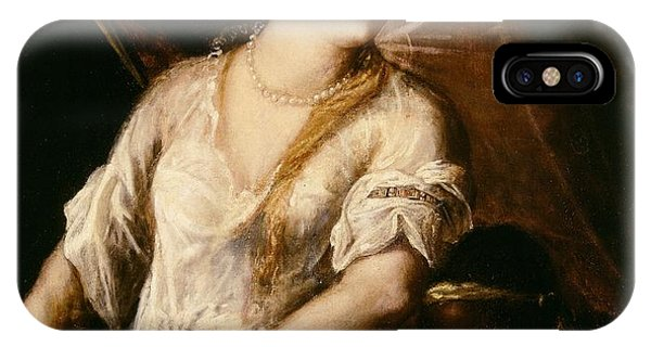 Judith With The Head Of Holofernes IPhone Case