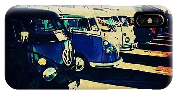 Vw Bus iPhone Case - #jumpedthegunposting #vw #volkswagon by Exit Fifty-Seven