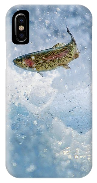 Jumping Trout 1 IPhone Case