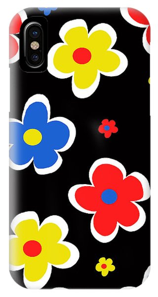 Poppies iPhone Case - Junior Florals by Louisa Knight