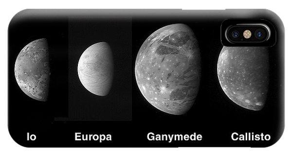 Jupiters Galilean Moons IPhone Case