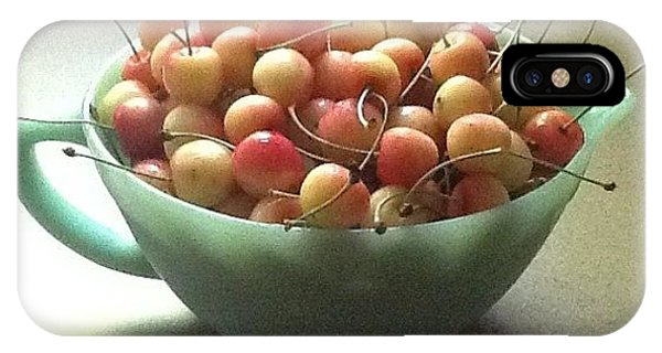Just A Bowl Of Cherries IPhone Case