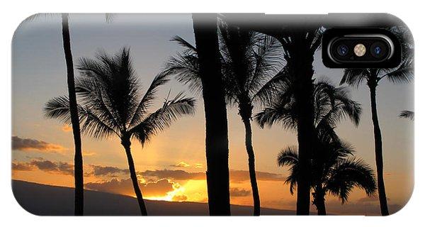 Ka'anapali Sunset IPhone Case