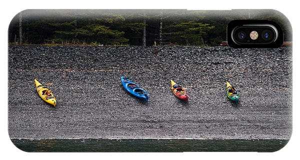 Kayak Shore IPhone Case