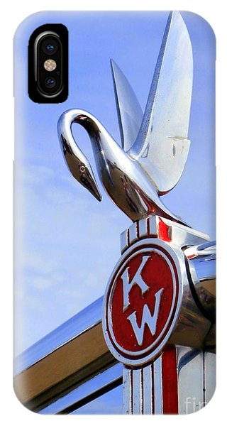Kenworth Insignia And Swan IPhone Case