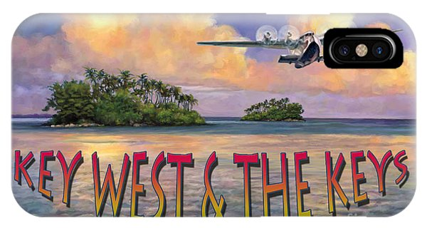 Key West Air Force IPhone Case