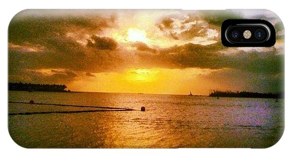 Sunset iPhone Case - Key West by Bill Cannon