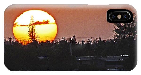 Key West Sunset IPhone Case