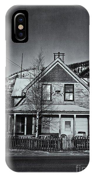 White Fence iPhone Case - King Street by Priska Wettstein