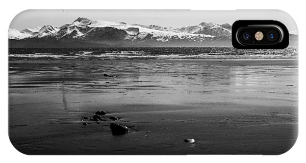 Kite Surfer On An Alaskan Beach IPhone Case