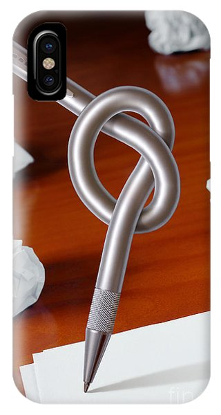 Knot On Pen IPhone Case