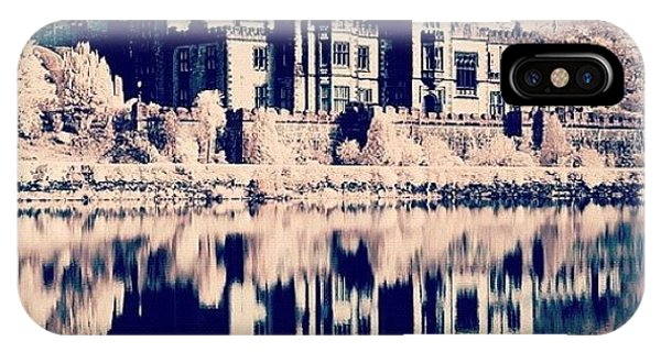 Surrealism iPhone Case - Kylemore Abbey, Ireland. Taken With by Magda Nowacka