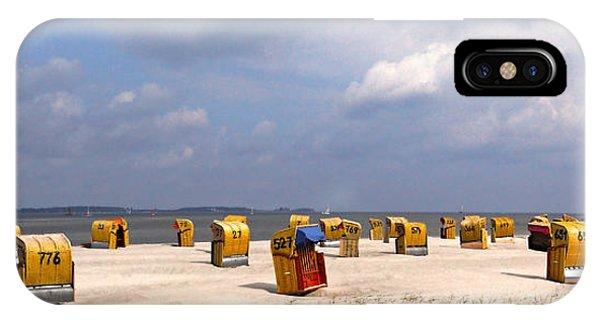 Laboe Beach ... IPhone Case