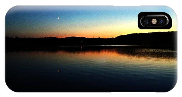 Lac Caribou Quebec IPhone Case