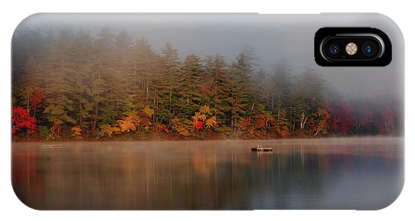 Lake Chocorua Sunrise IPhone Case