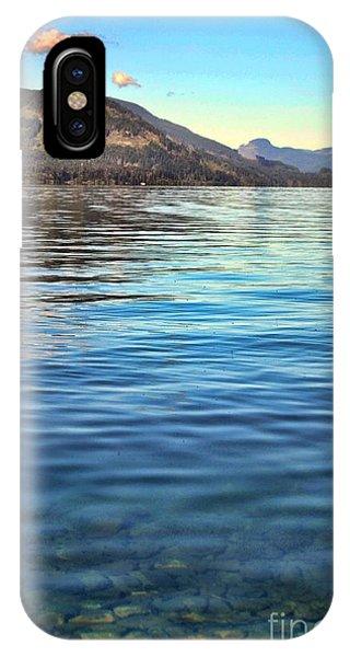 Lake Cowichan Bc IPhone Case