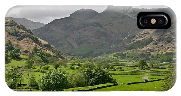 Lake District England IPhone Case