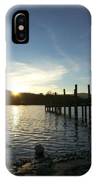 Lake District Sunset IPhone Case