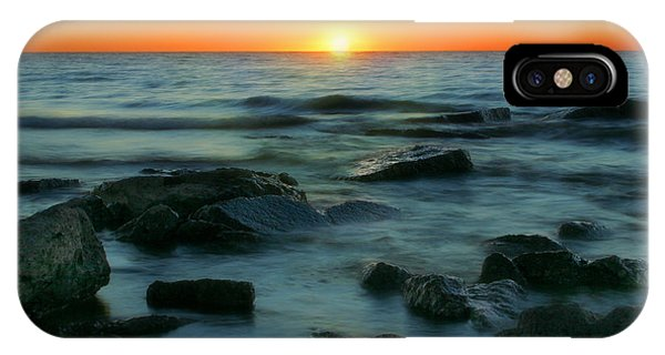 Lake Erie Sunset IPhone Case